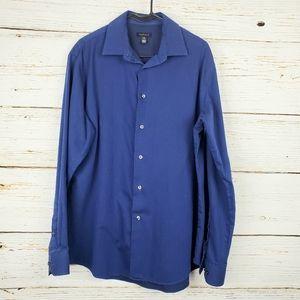 Van Heusen Blue Button Down Shirt